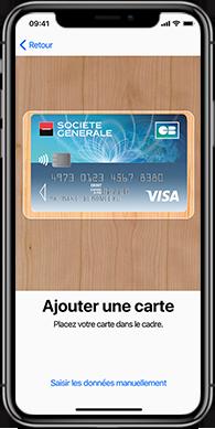 Comment ajouter une carte bancaire dans ApplePay